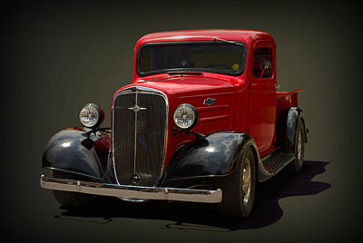 Photograph - 1934 Chevrolet Pickup Truck by Tim McCullough