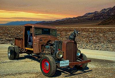 Photograph - 1934 Chevrolet Rat Rod Pickup by Tim McCullough