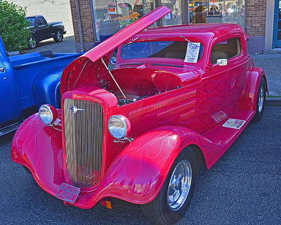 Photograph - 1934 Chevy Coupe by Tikvah's Hope