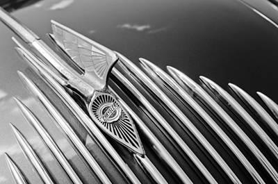 Chrysler Airflow Photograph - 1934 Chrysler Airflow Hood Ornament 3 by Jill Reger