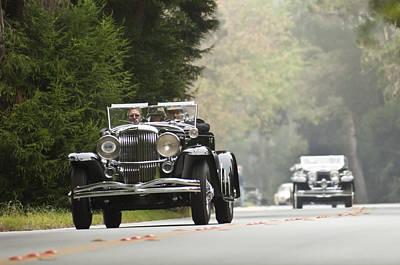 Photograph - 1934 Duesenberg J Murphy Convertible Coupe by Jill Reger