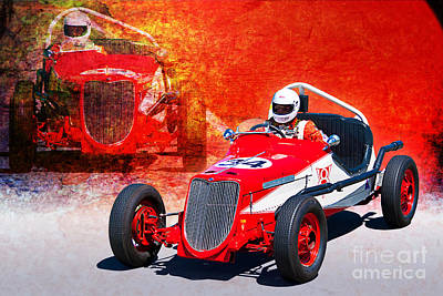 1934 Ford Indy Special Art Print by Stuart Row