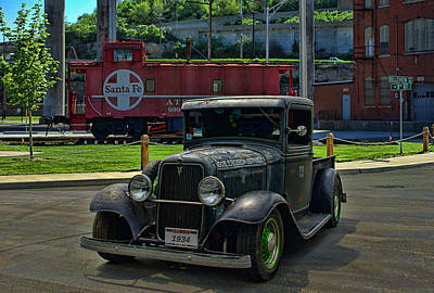 Photograph - 1934 Ford Pickup Us Soil Service by Tim McCullough