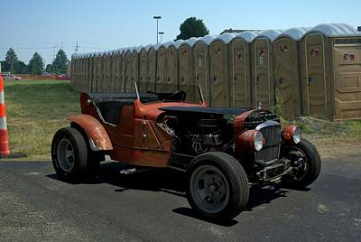 Photograph - 1934 Ford Rat Rod by Tim McCullough