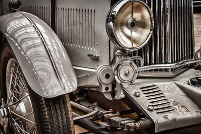 Photograph - 1935 Aston Martin by James Woody