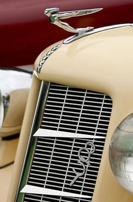 Photograph - 1935 Auburn Model 851 Supercharged Speedster Hood Ornament by Jill Reger