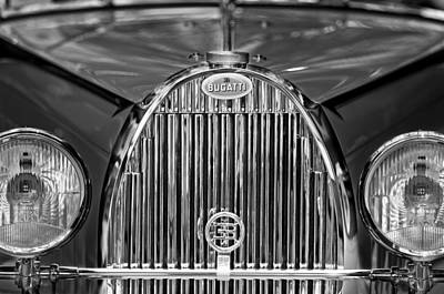 Photograph - 1935 Bugatti Type 57 Roadster Grille 2 by Jill Reger