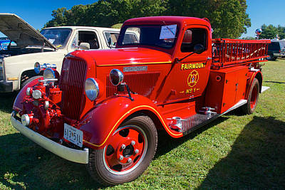 Photograph - 1935 Dodge Firetruck by Mark Dodd