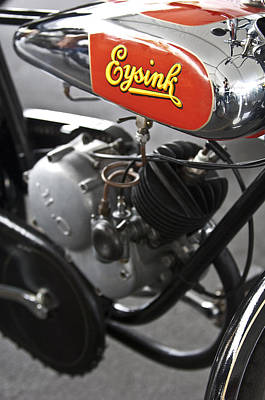 Photograph - 1935 Eysink Motorcycle by Jill Reger