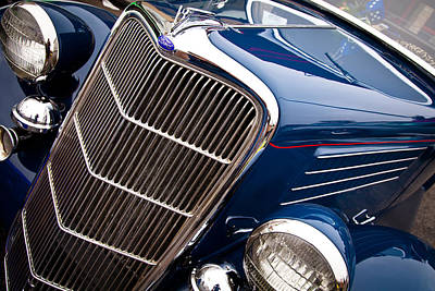 Car Photograph - 1935 Ford Coupe by David Patterson
