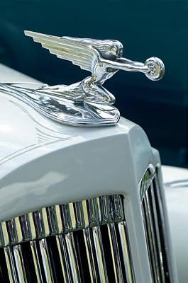 Photograph - 1935 Packard Sedan Hood Ornament by Jill Reger