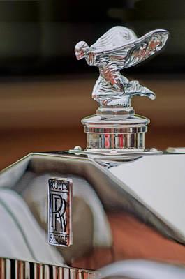 Photograph - 1935 Rolls-royce Phantom II Continental Drophead Coupe Hood Ornament by Jill Reger
