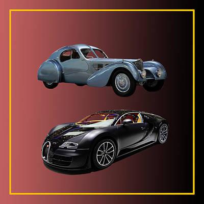 Photograph - 1936 Bugatti 2010 Bugatti by Jack Pumphrey