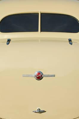 Photograph - 1936 Buick 40 Series Rear Emblem by Jill Reger