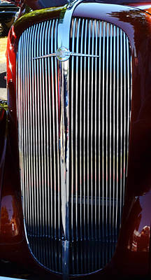 Photograph - 1936 Chev by Ansel Price