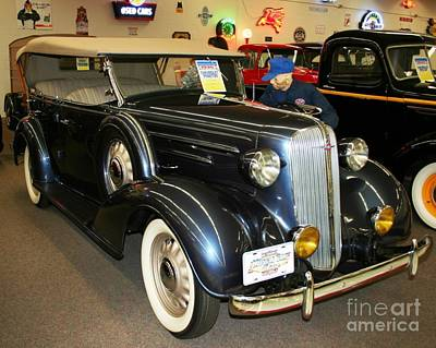 Photograph - 1936 Chevrolet Phaeton by John Black