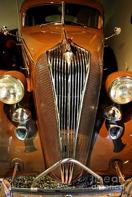 1936 Hudson 64 De Luxe 8 Sedan Art Print by Wingsdomain Art and Photography