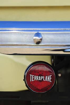 Photograph - 1937 Hudson Terraplane Pickup Truck Taillight by Jill Reger