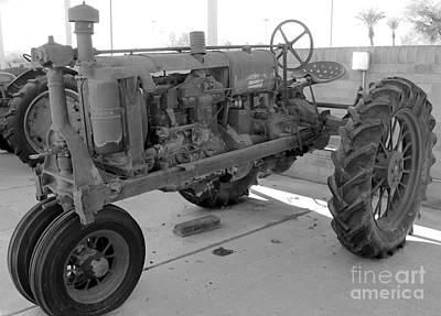 Photograph - 1937 Mccormick Tractor by Pamela Walrath