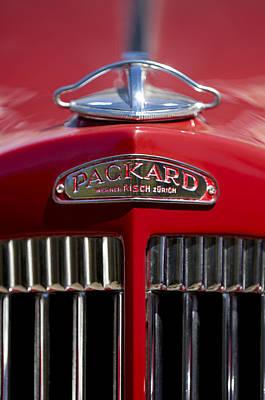 Photograph - 1937 Packard 115-c Cabriolet Hood Ornament 2 by Jill Reger