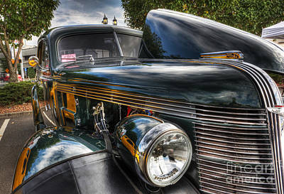Photograph - 1937 Pontiac Torpedo Indian Coupe  by Lee Dos Santos