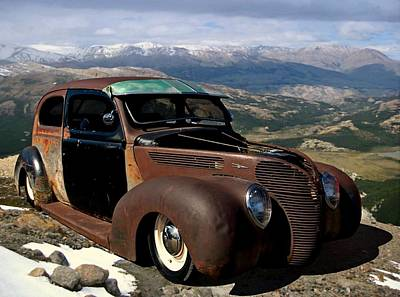 Photograph - 1938 Ford Sedan Jalopy by Tim McCullough