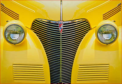 Photograph - 1939 Chevy Custom by Steve Zimic