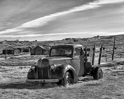 1939 Ford Truck Bodie Ca Art Print by Troy Montemayor