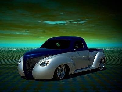 Photograph - 1939 Studebaker Custom Pickup by Tim McCullough