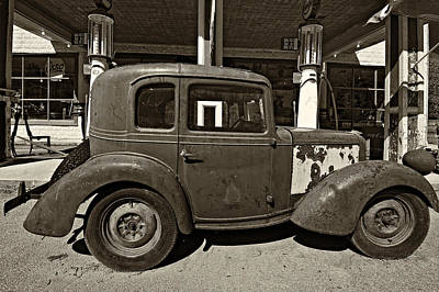 Door Locks And Handles - 1940 Bantam Coupe sepia by Steve Harrington