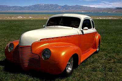 Photograph - 1940 Chevrolet Custom Coupe by Tim McCullough