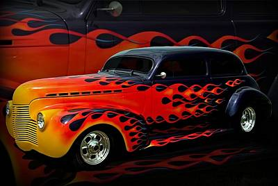 Photograph - 1940 Chevrolet Custom Sedan by Tim McCullough