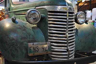 Chev Pickup Photograph - 1940 Chevrolet by Daryl Macintyre