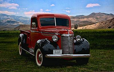 1940 Chevrolet Pickup Truck Art Print