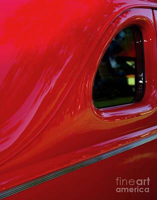 1940 Ford Coupe Side Window Art Print by Peter Piatt
