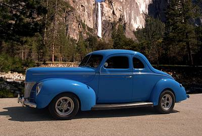 Photograph - 1940 Ford Coupe by Tim McCullough