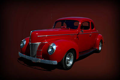 Photograph - 1940 Ford Hot Rod Coupe  by Tim McCullough