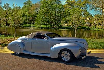 Photograph - 1940 Lincoln Custom Convertible by Tim McCullough