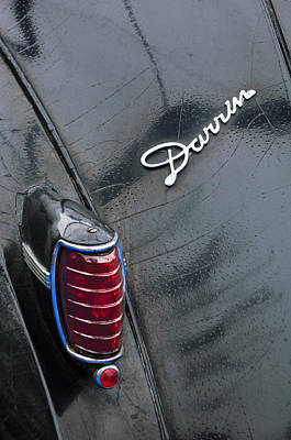 Photograph - 1940 Packard Model 1806 Towne Coupe Taillight by Jill Reger