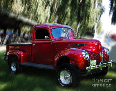 1941 Ford Truck Art Print by Peter Piatt