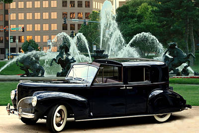 Photograph - 1941 Lincoln Town Car by Tim McCullough
