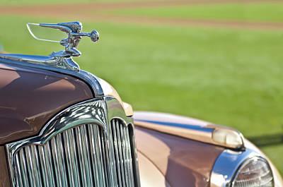 Photograph - 1942 Packard Darrin Convertible Victoria1942 Packard Darrin Convertible Victoria Hood Ornament 2 by Jill Reger