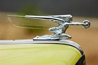 Photograph - 1942 Packard Hood Ornament by Jill Reger