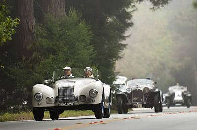 Photograph - 1946 Allard J1 Competition Whitingham And Mitchell Open Sports by Jill Reger