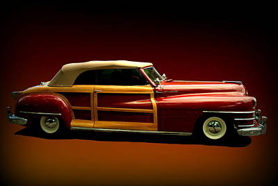 1946 Chrysler Town And Country Convertible Art Print by Tim McCullough