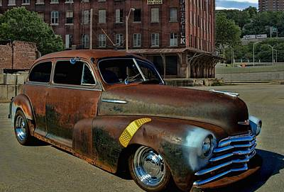 Photograph - 1947 Chevrolet Fleetmaster by Tim McCullough