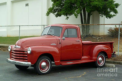 Photograph - 1947 Chevrolet Pickup Truck by Renee Trenholm