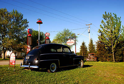 Antique Gas Pumps Photograph - 1947 Ford by Cale Best