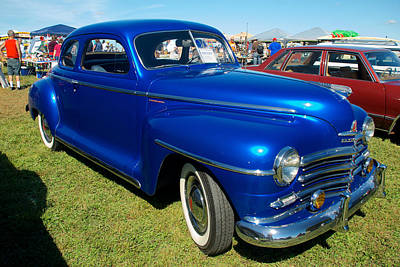 Photograph - 1947 Plymouth Coupe by Mark Dodd