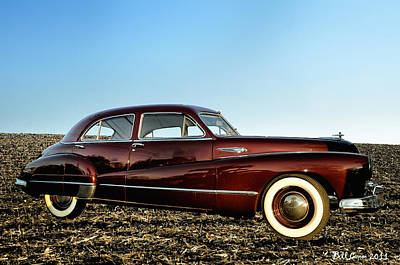 1948 Buick Eight Super Art Print by Bill Cannon